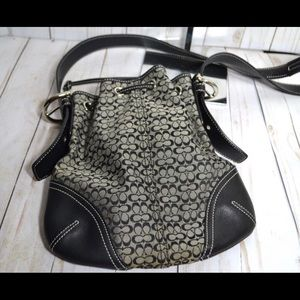Coach Crossbody Drawstring Bag